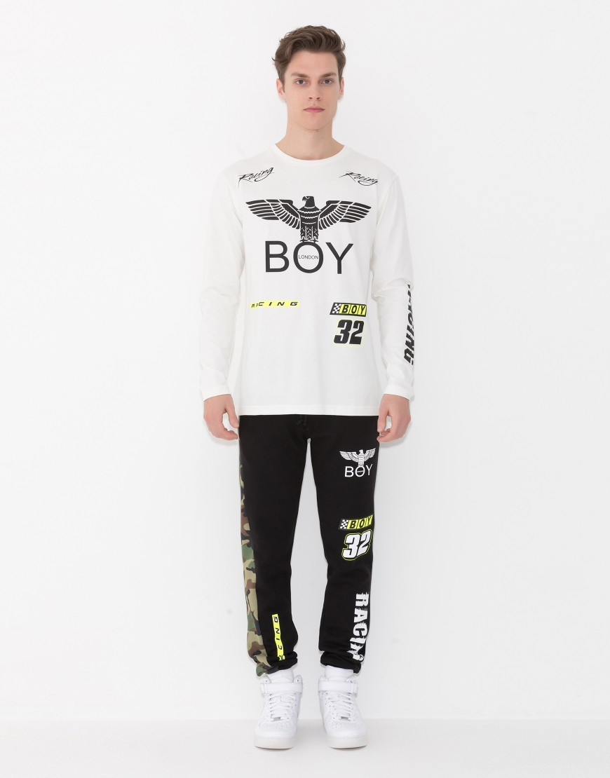 T-SHIRT - BOY LONDON - BLU5059