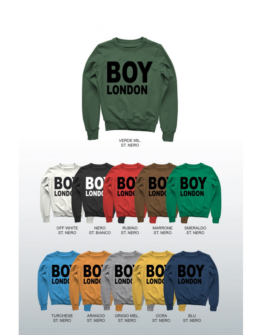 FELPA - BOY LONDON - BLU5012