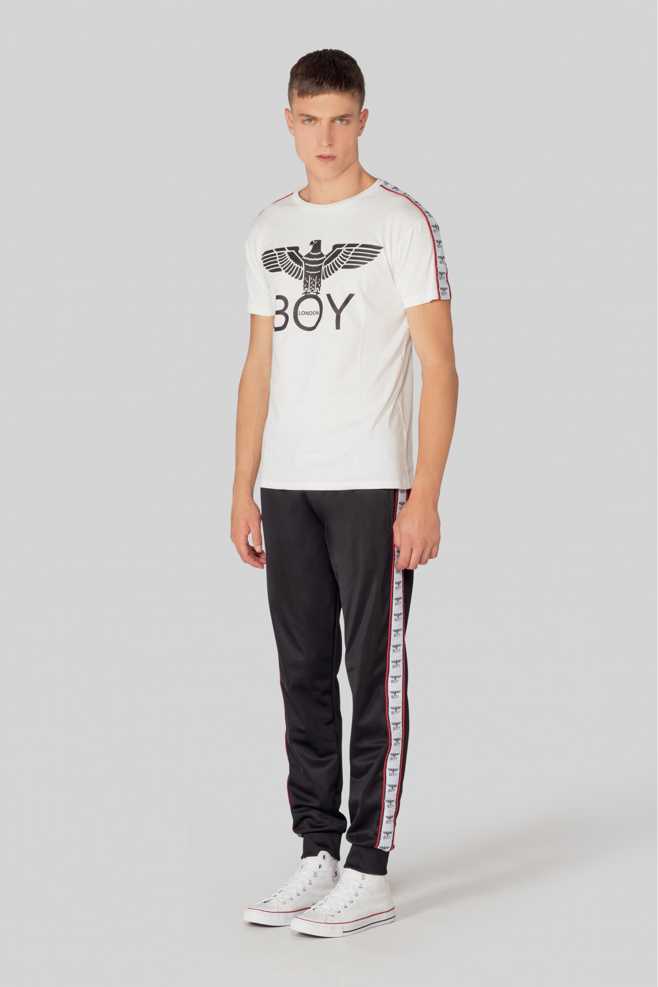 T-SHIRT - BLU6719 - BOY LONDON