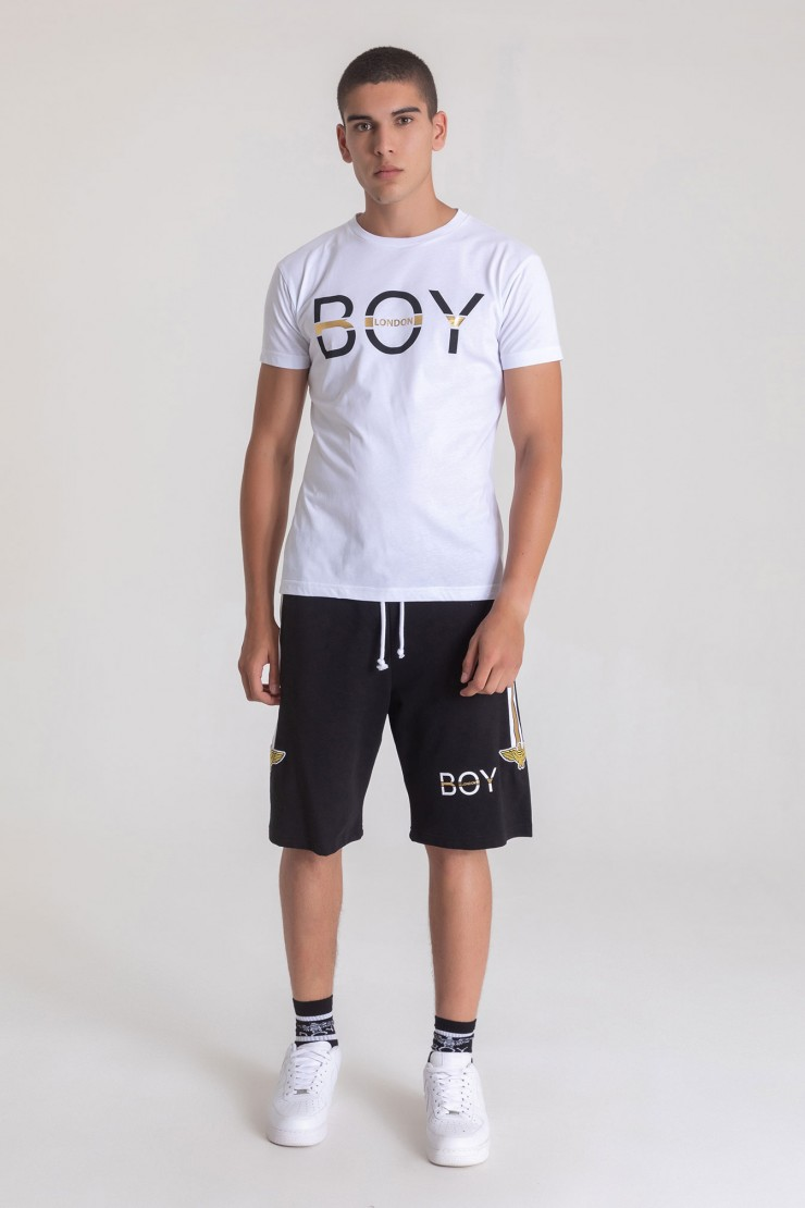 T-SHIRT - BLU6066 - BOY LONDON