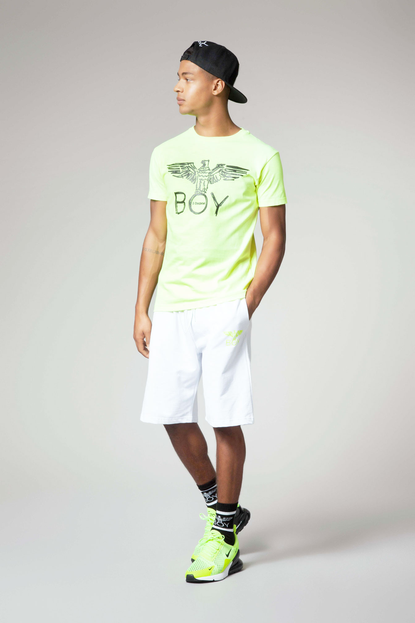 T-SHIRT - BLU6523 - BOY LONDON