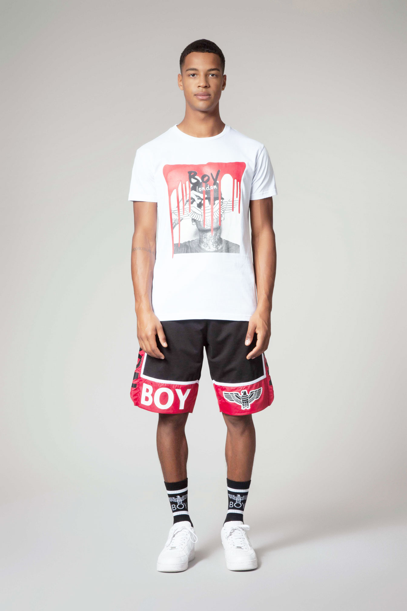 T-SHIRT - BLU6554 - BOY LONDON