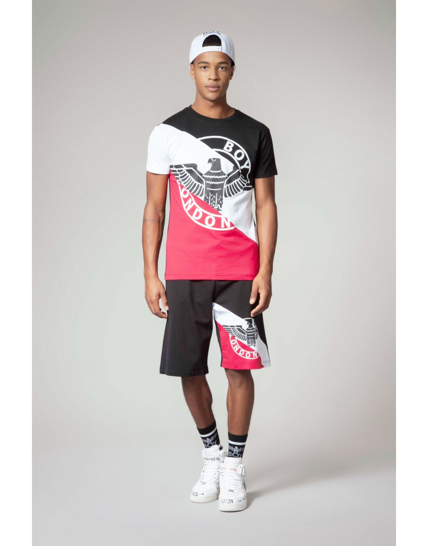 T-SHIRT - BLU6557 - BOY LONDON