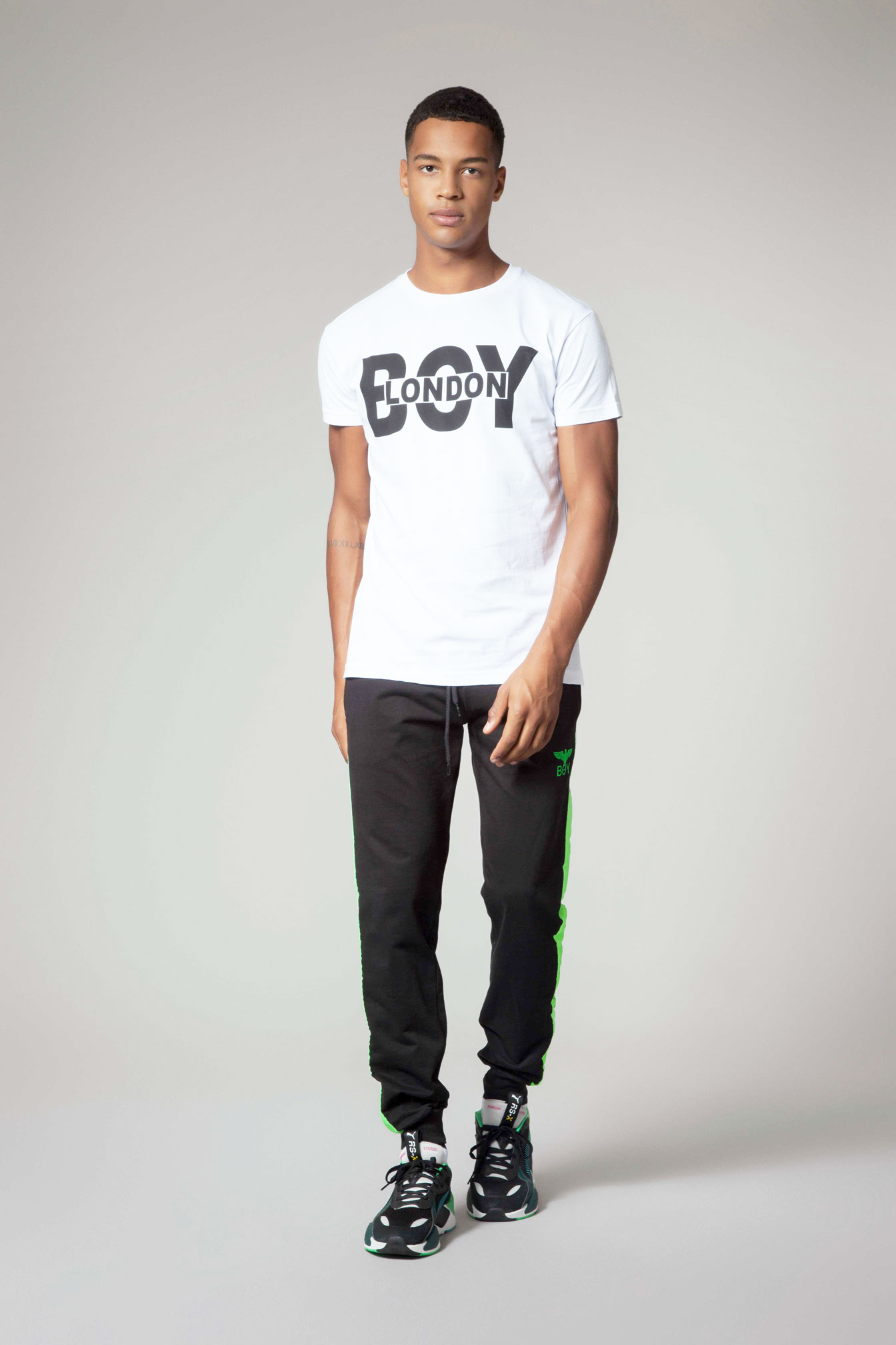 T-SHIRT - BLU6509 - BOY LONDON