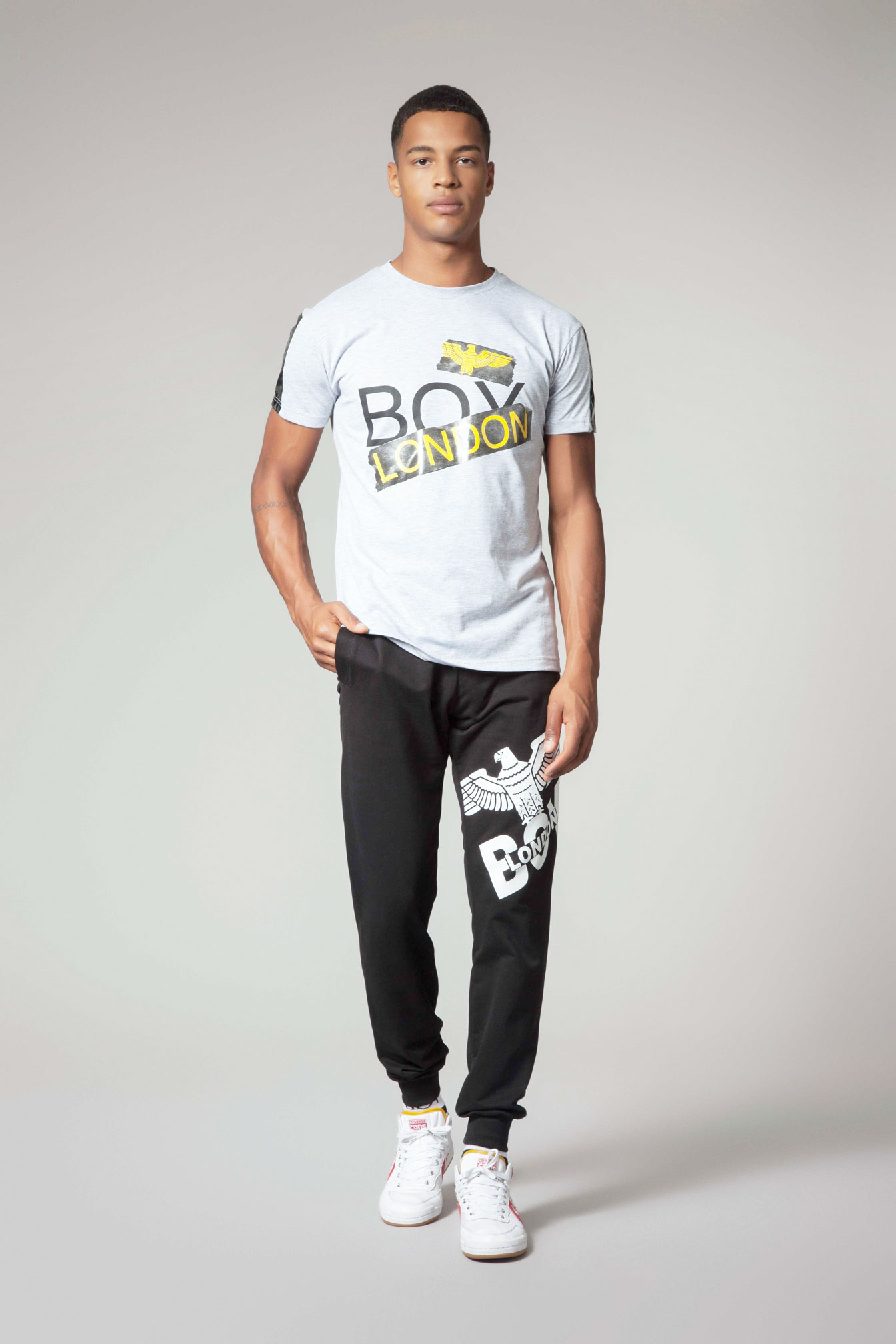 T-SHIRT - BLU6565 - BOY LONDON