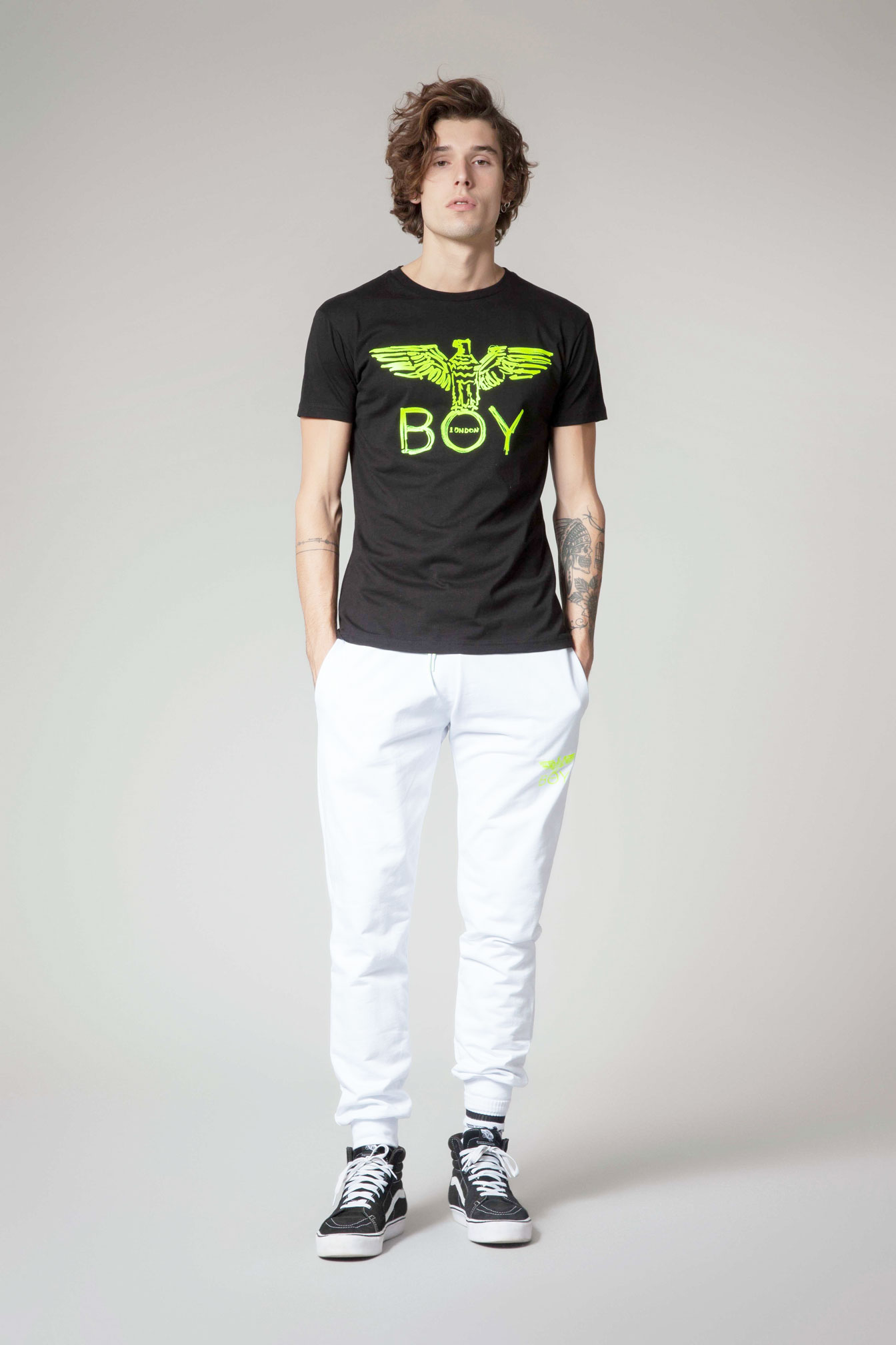 T-SHIRT - BLU6519 - BOY LONDON