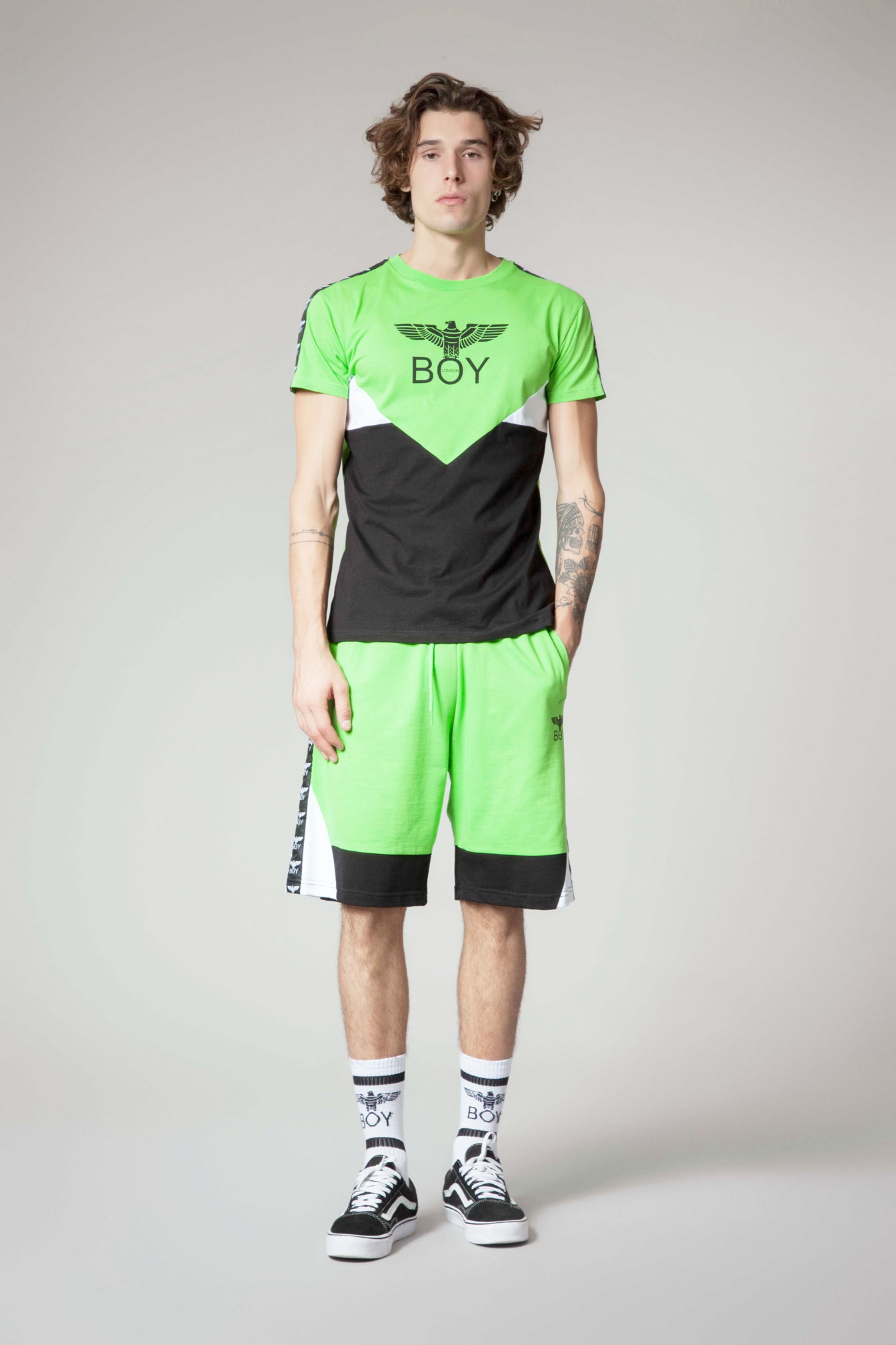 T-SHIRT - BLU6571 - BOY LONDON